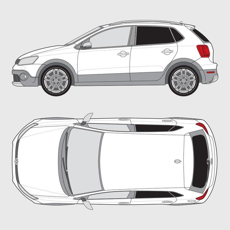 Volkswagen Polo Cross 2014-2017