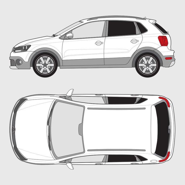 Volkswagen Polo Cross 2010-2014
