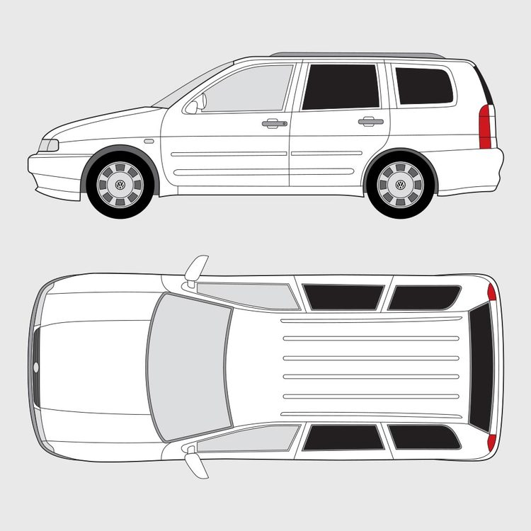 Volkswagen Polo kombi 1994-2004