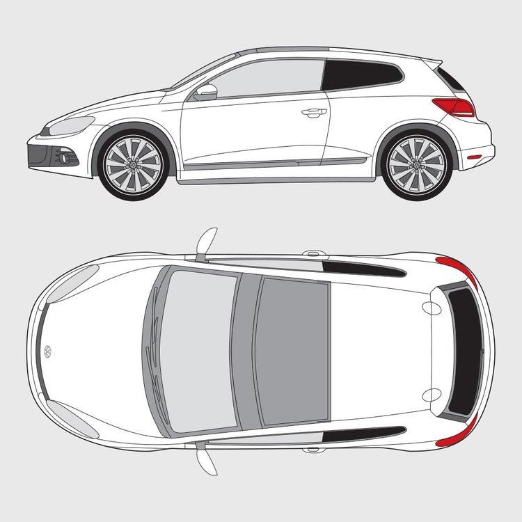 Volkswagen Scirocco 2008-2014