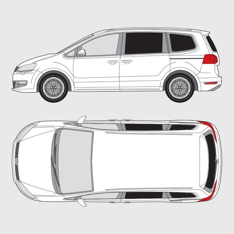 Volkswagen Sharan 2010-2016
