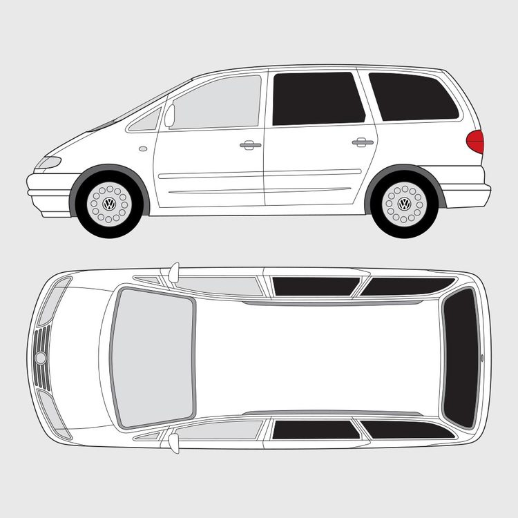Volkswagen Sharan 1996-2000