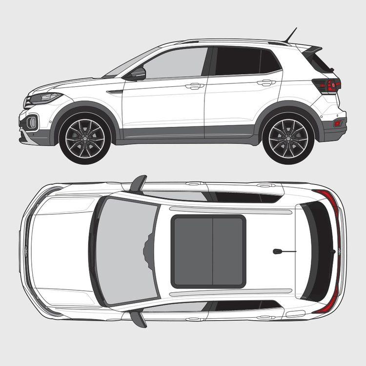 Volkswagen T-Cross 2019-