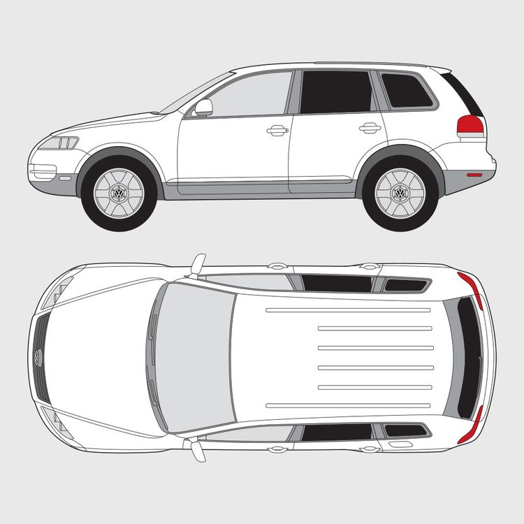 Volkswagen Touareg 2003-2009