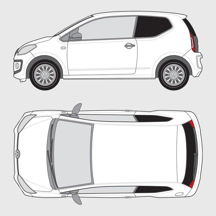Volkswagen UP 3-dörrar 2011-2016