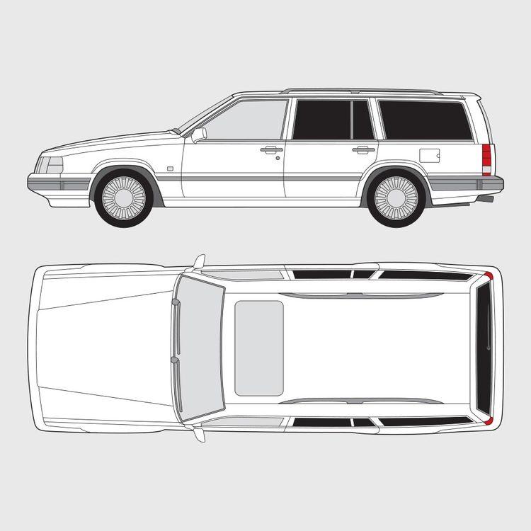 Volvo 740/760 kombi 1983-1990