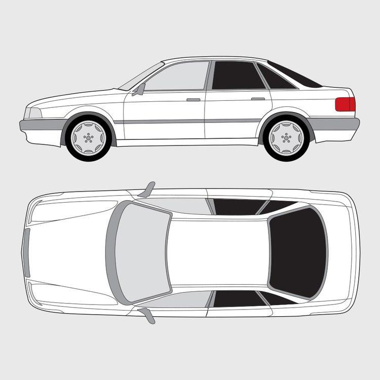 Audi 80 4-dörrar 1987-1995