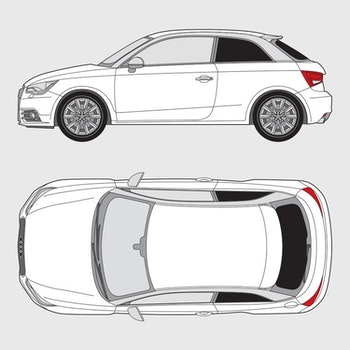 Audi A1 3-dörrar