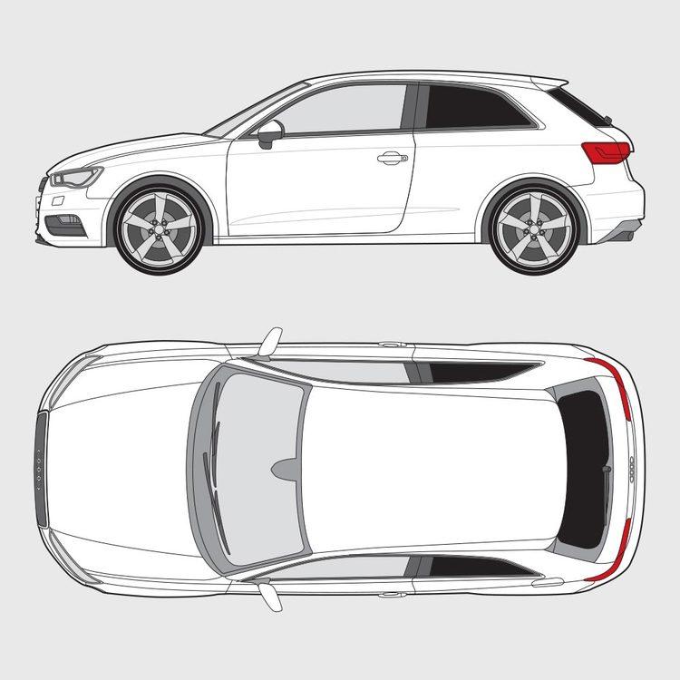 Audi A3 3-dörrar 2012-2016