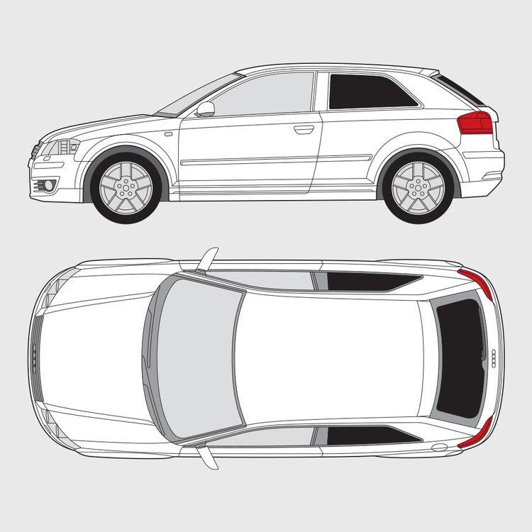 Audi A3 3-dörrar 2003-2013