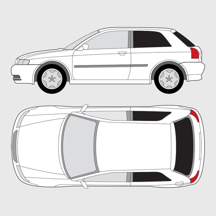 Audi A3 3-dörrar 1996-2003