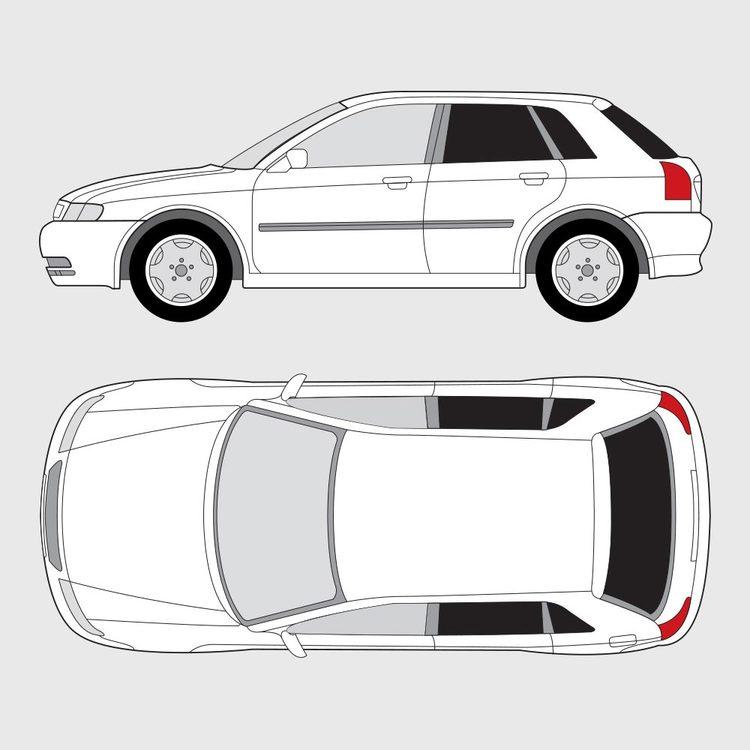 Audi A3 5-dörrar 1999-2003