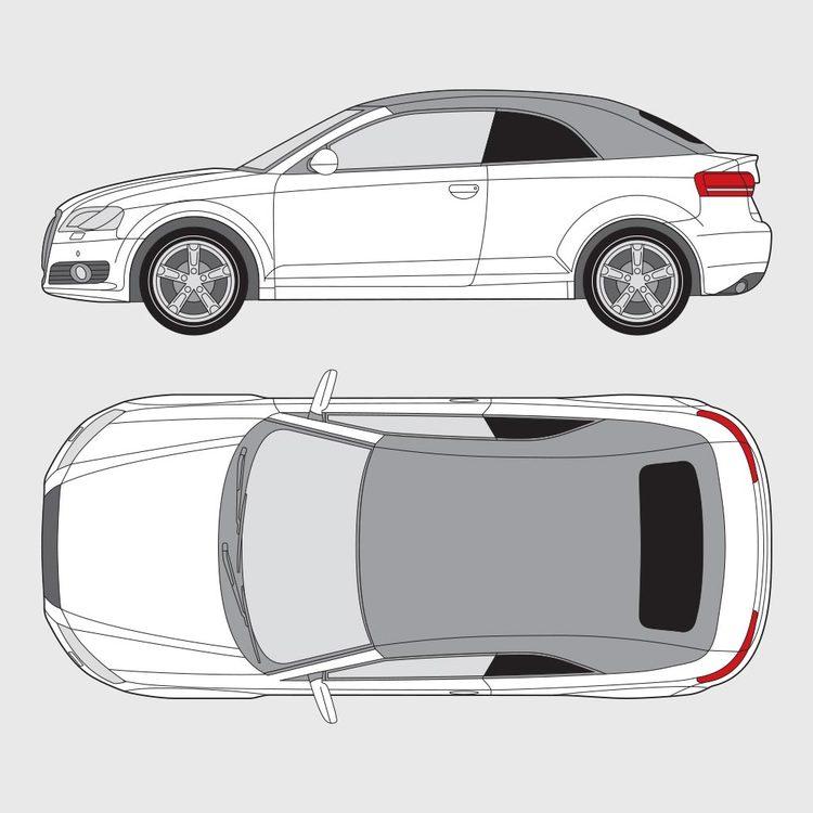 Audi A3 Cab 2008-2013