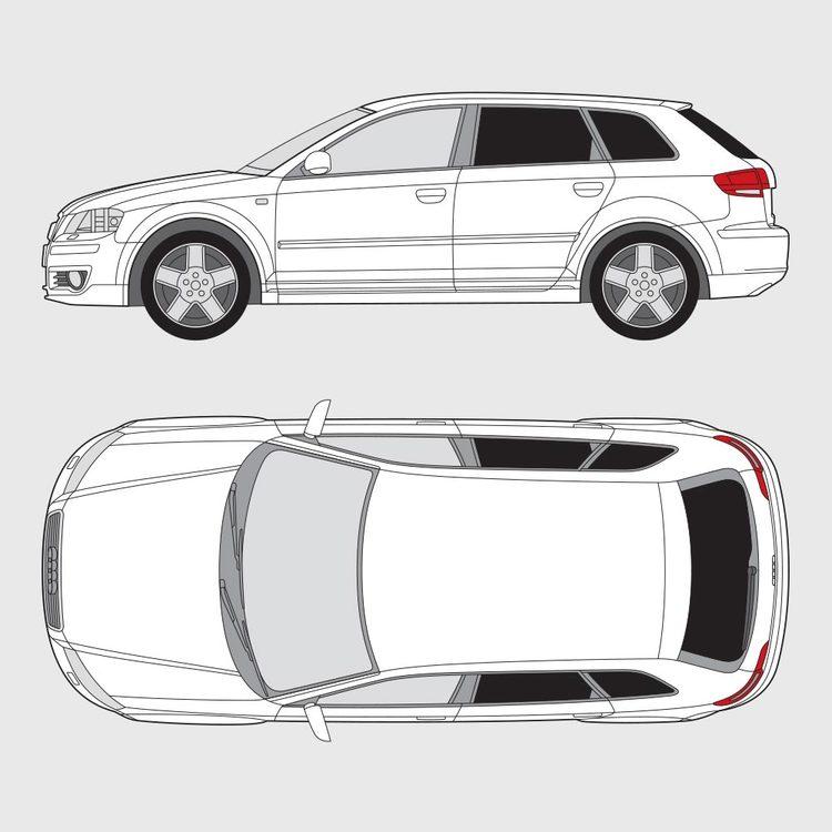 Audi A3 Sportback 2004-2011