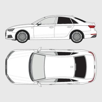 Audi A4 4-dörrar