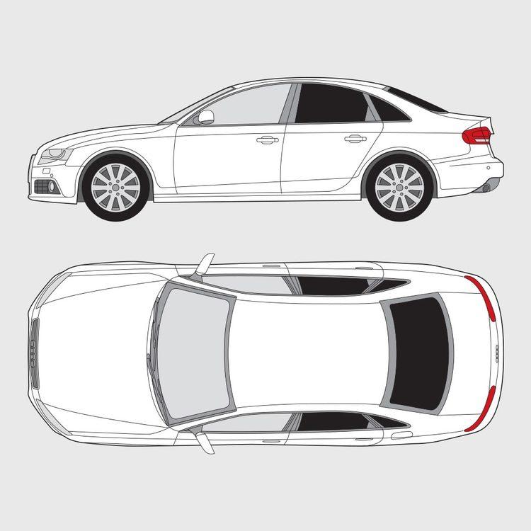 Audi A4 4-dörrar 2008-2015
