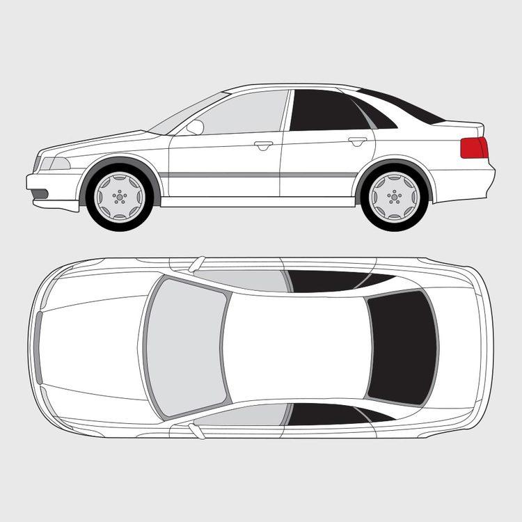 Audi A4 4-dörrar 1994-2000