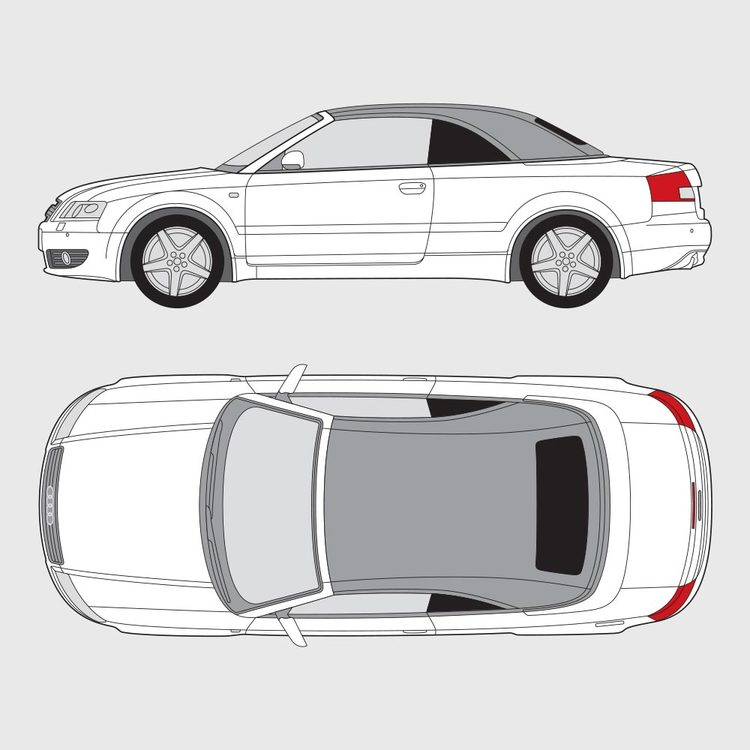 Audi A4 Cab 2002-2004