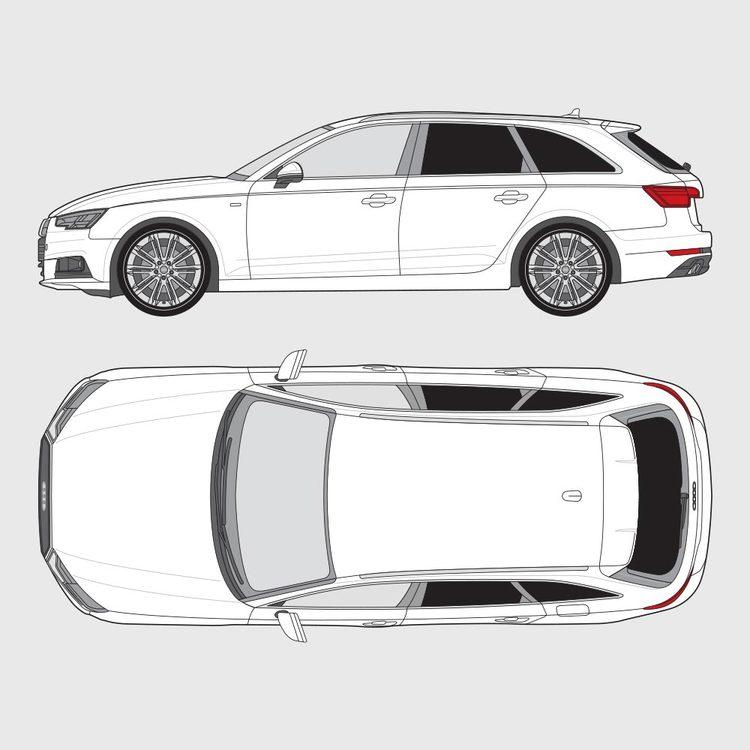 Audi A4 kombi 2016-2020