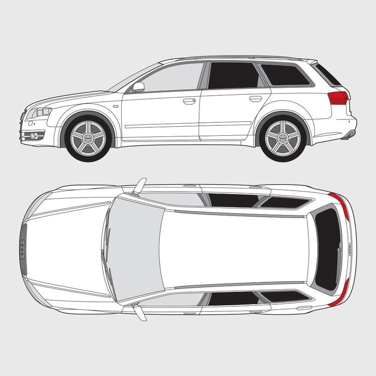 Audi A4 kombi 2004-2007