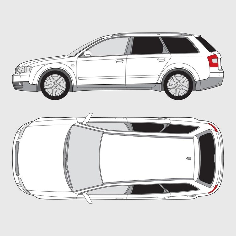 Audi A4 kombi 2001-2004