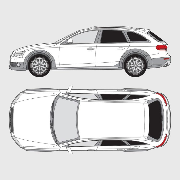 Audi A4 kombi Allroad 2009-2016