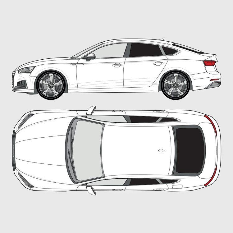 Audi A5 Sportback 2017-