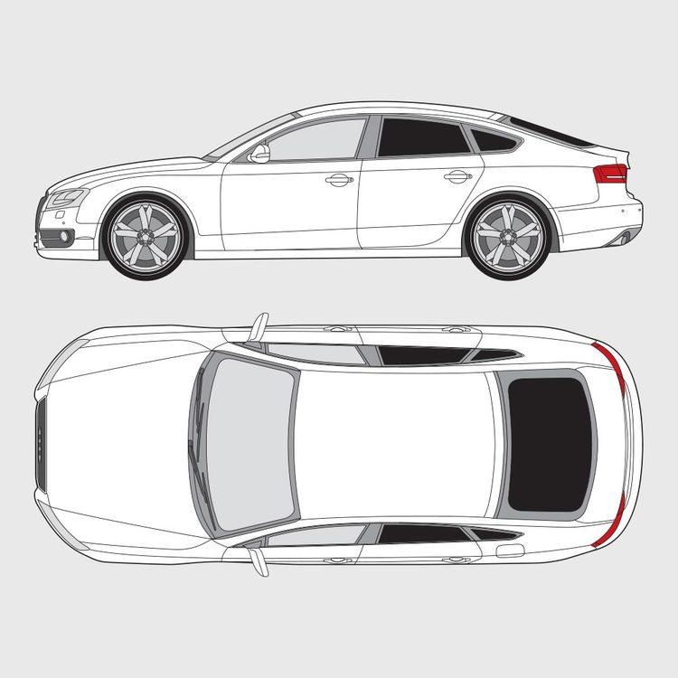 Audi A5 Sportback 2009-2017