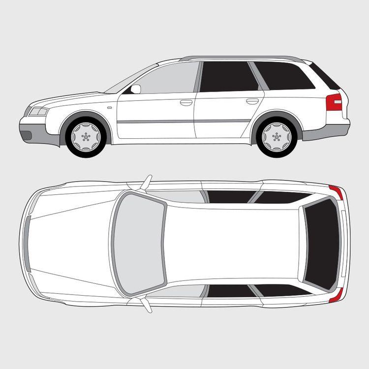 Audi A6 kombi 1997-2004