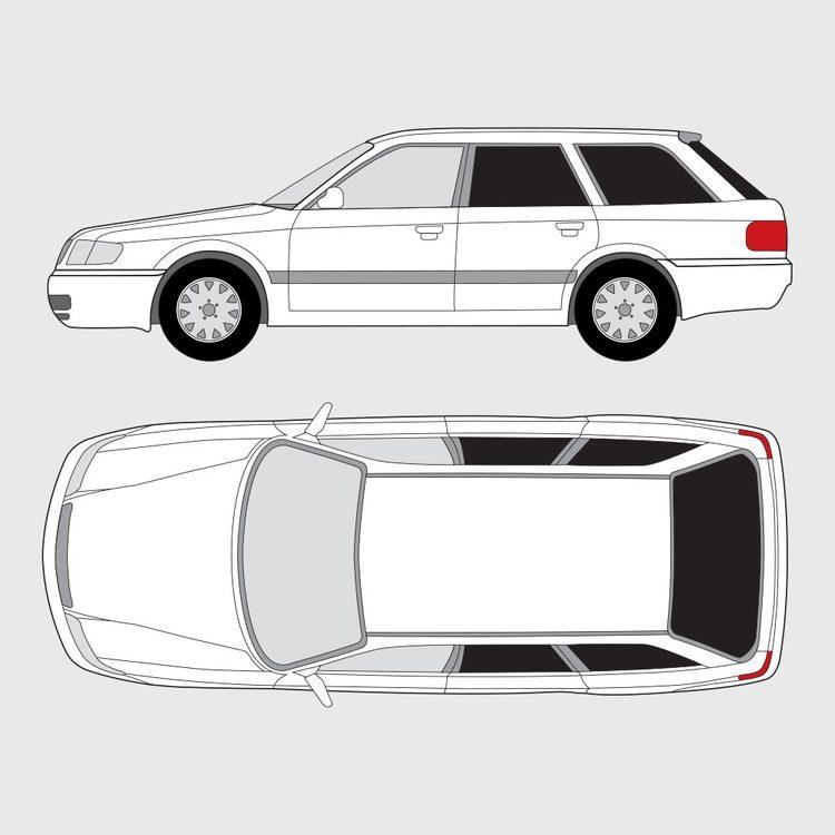 Audi A6 kombi 1994-1997