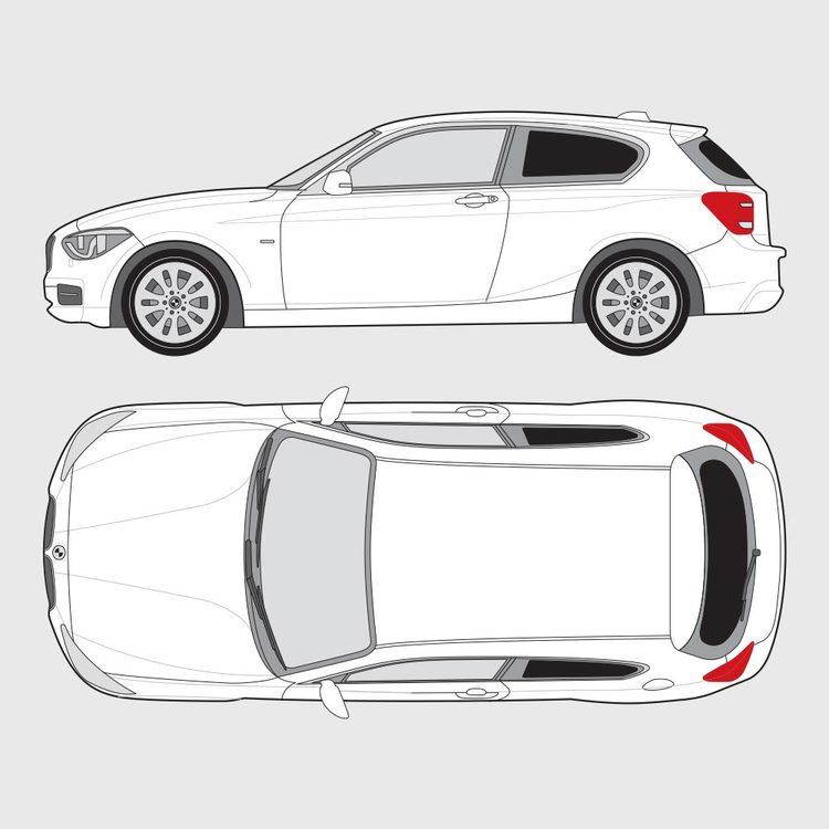 BMW 1 Serie 3-dörrar F21 2012-2015