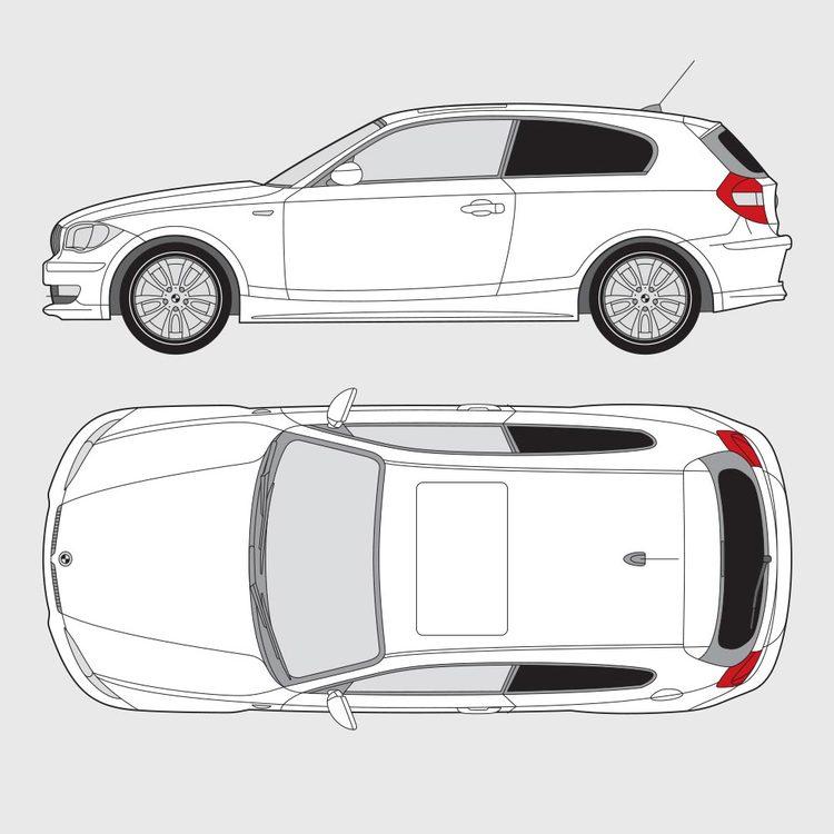 BMW 1 Serie 3-dörrar E81 2004-2011