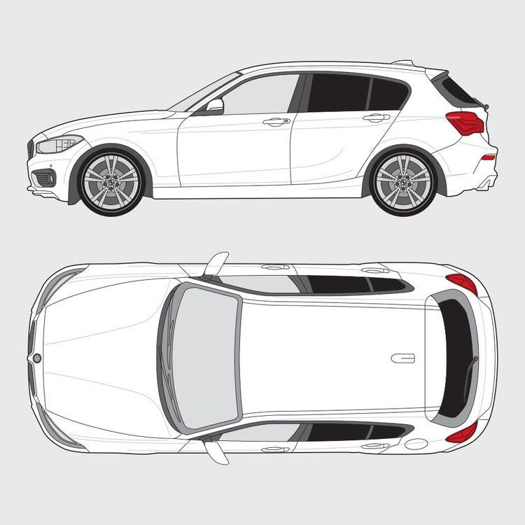 BMW 1 Serie 5-dörrar F20 2011-2019