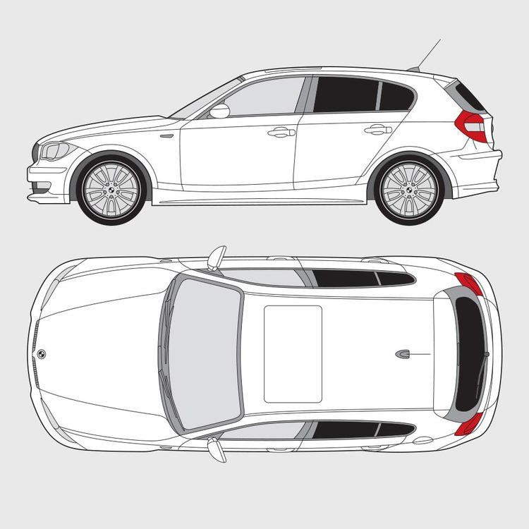 BMW 1 Serie 5-dörrar E87 2004-2011