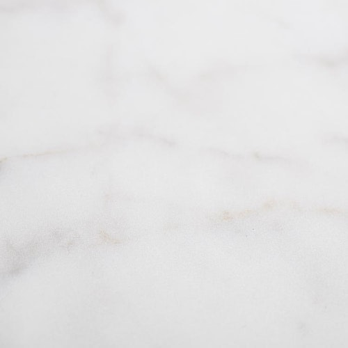 Faded white marble