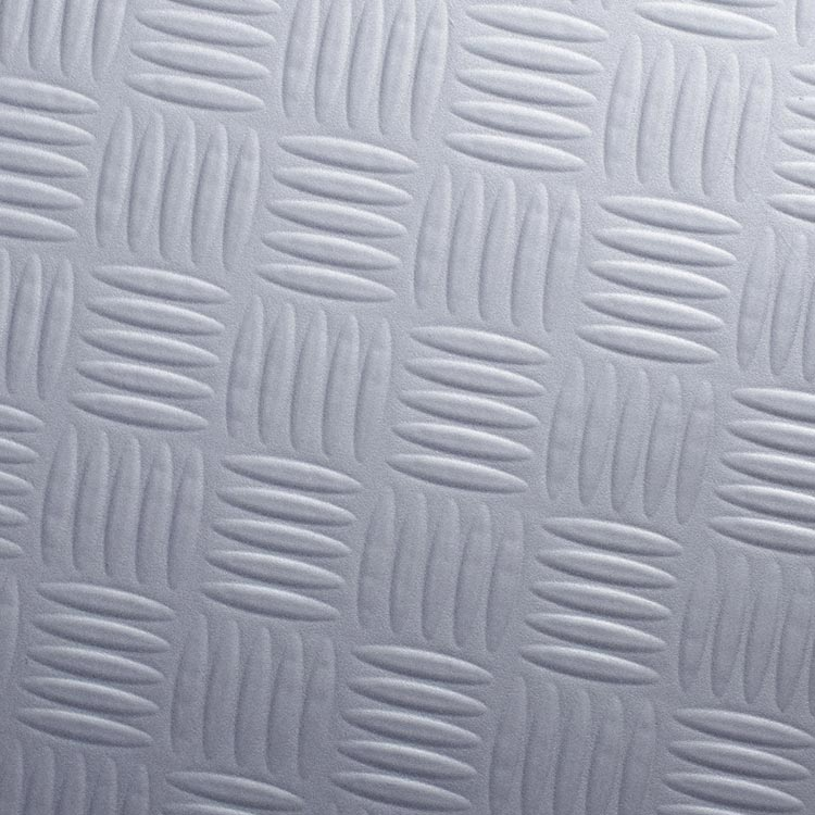 Z8 - Silver chequer plate steel