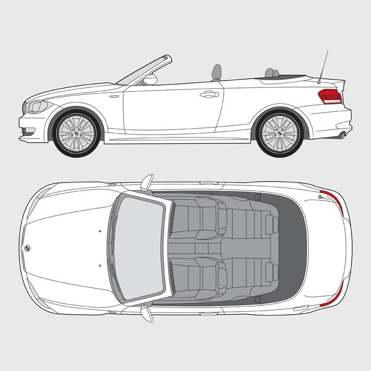 BMW 1 Serie Cab E88 2007-2013