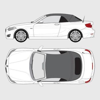 BMW 2 Serie Cab