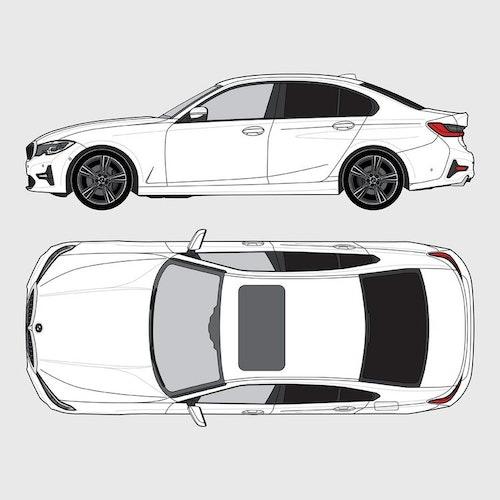 BMW 3 Serie 4-dörrar