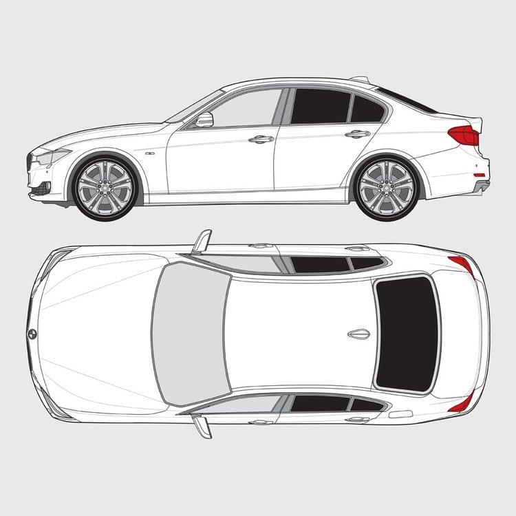 BMW 3 Serie 4-dörrar F30 2012-2018