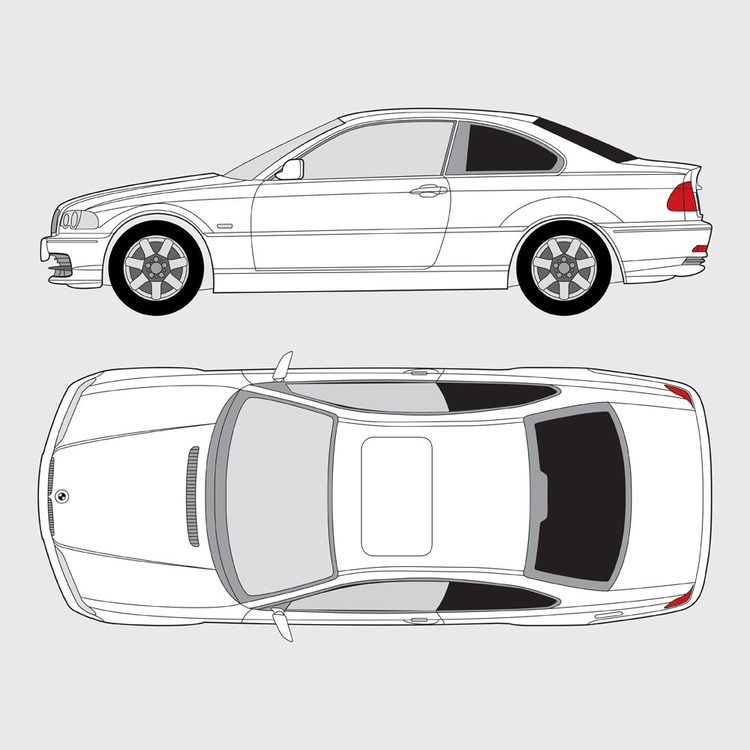 BMW 3 Serie Coupe E46 1999-2006