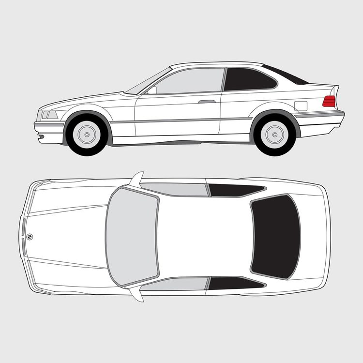 BMW 3 Serie Coupe E36 1990-2000