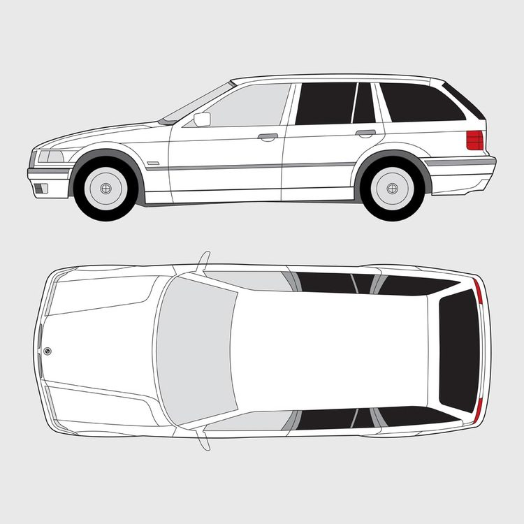 BMW 3 Serie Touring E36 1995-1999