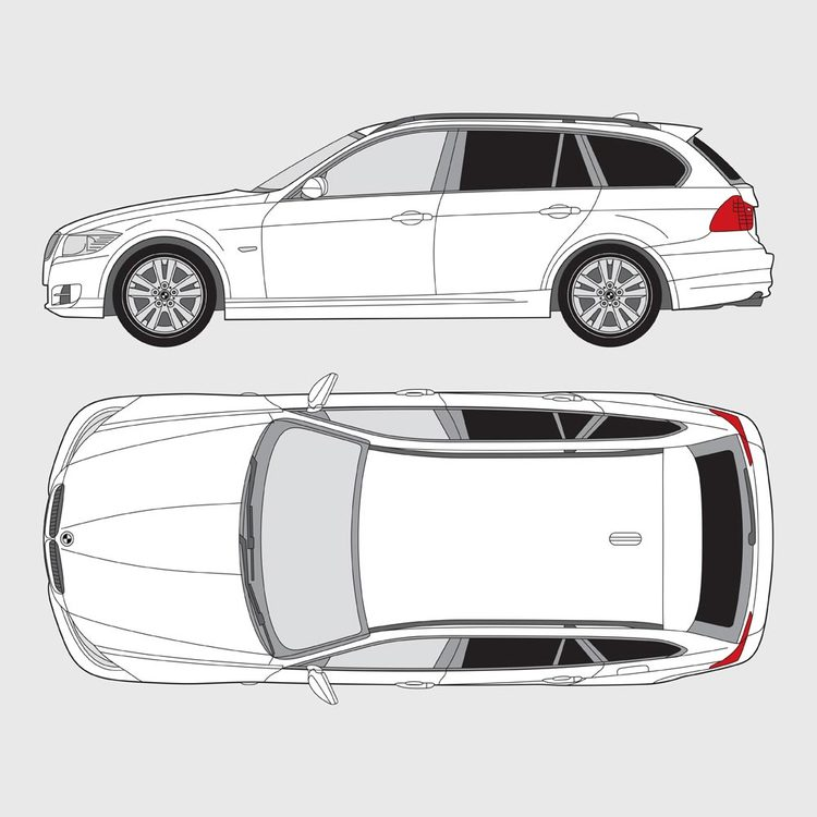 BMW 3 Serie Touring E91 2005-2012