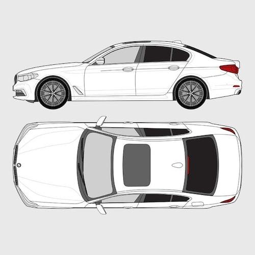 BMW 5 Serie 4-dörrar