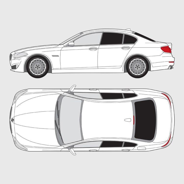 BMW 5 Serie 4-dörrar F10 2010-2016