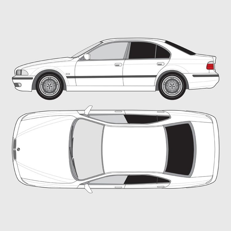BMW 5 Serie 4-dörrar E39 1995-2003