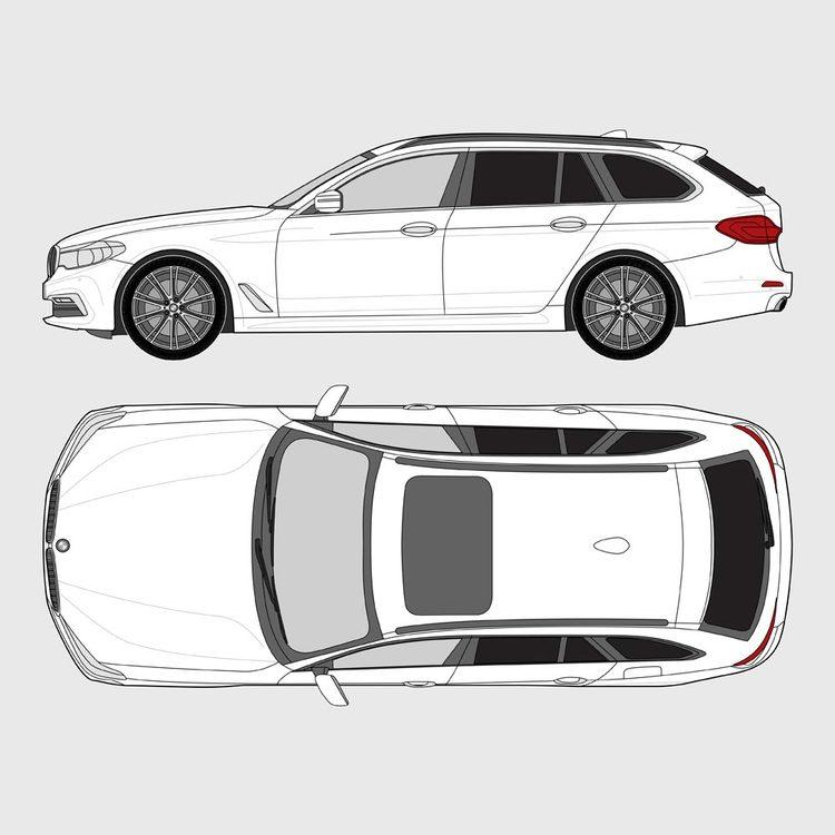 BMW 5 Serie Touring G31 2017-