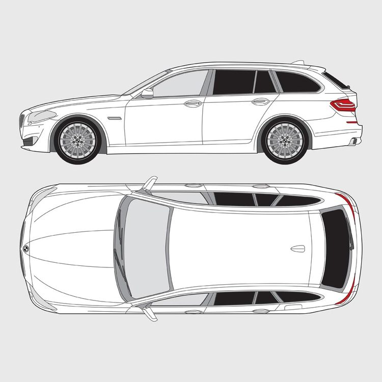 BMW 5 Serie Touring F11 2010-2016