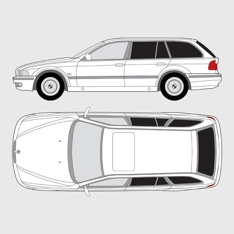 BMW 5 Serie Touring E39 1997-2004